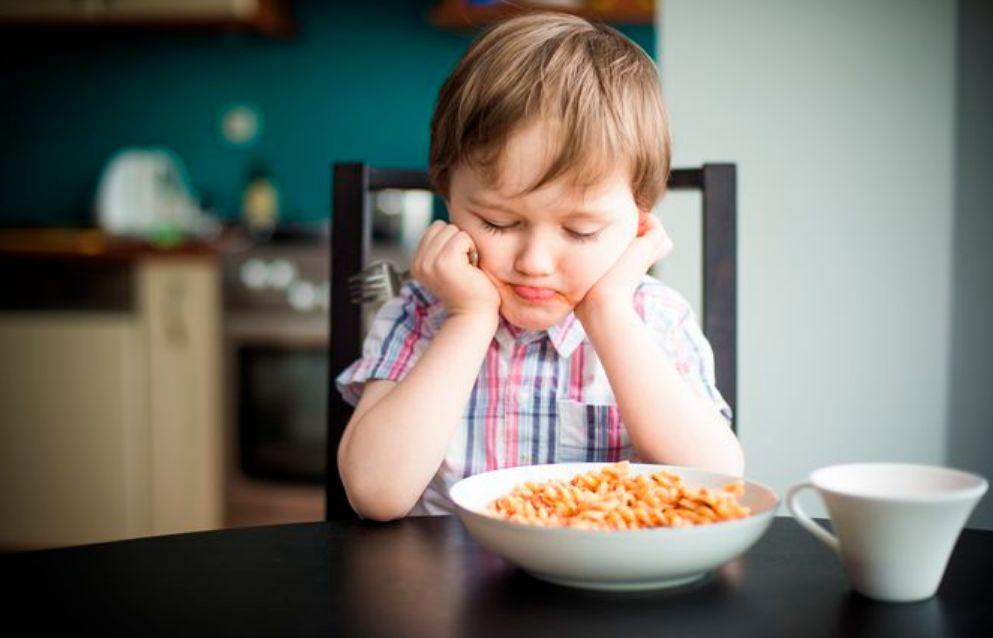 مظاهر قلة الأكل عند الأطفال