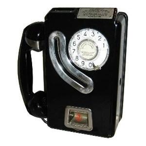 أول هاتف عمومي