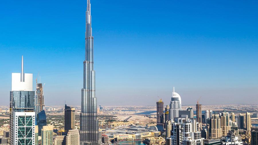 برج خليفة - اطول برج في العالم