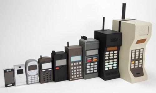 تطور الهاتف المحمول