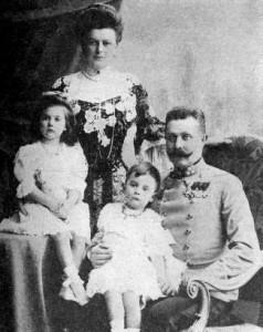 صورة لعائلة فرانشيسكو فرديناندو