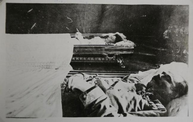 وريث عرش الإمبراطورية المجرية النمساوية فرانشيسكو فرديناندو مع زوجته