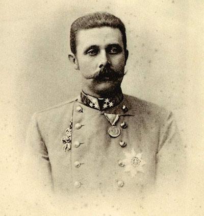 وريث عرش الإمبراطورية المجرية النمساوية فرانشيسكو فرديناندو