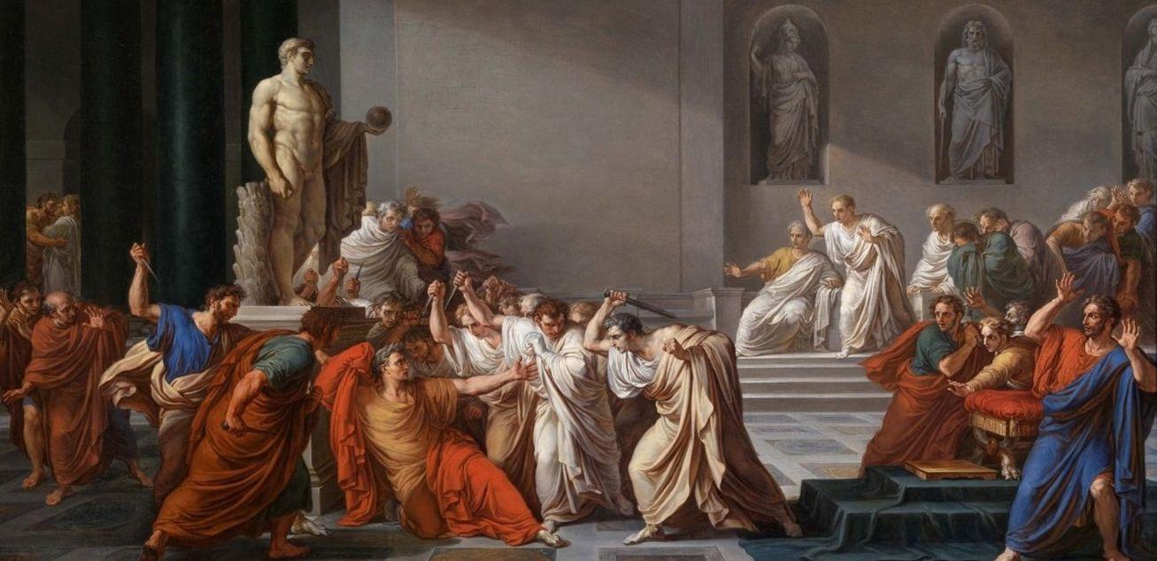 ختى انت با بروتي .... إذا فليمت قيصر
