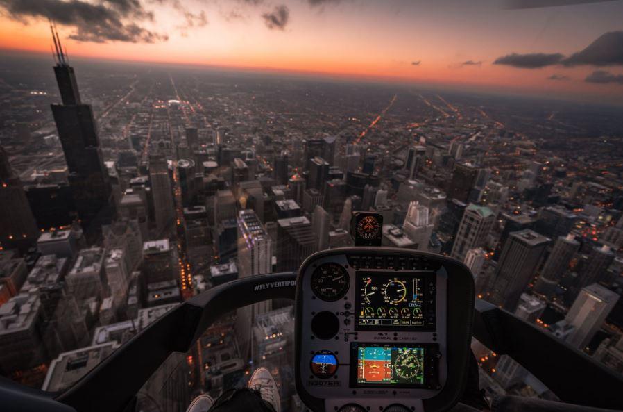 دراسة الطيران في أمريكا