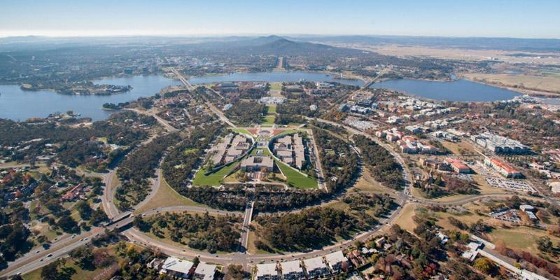 عاصمة أستراليا كانبيرا