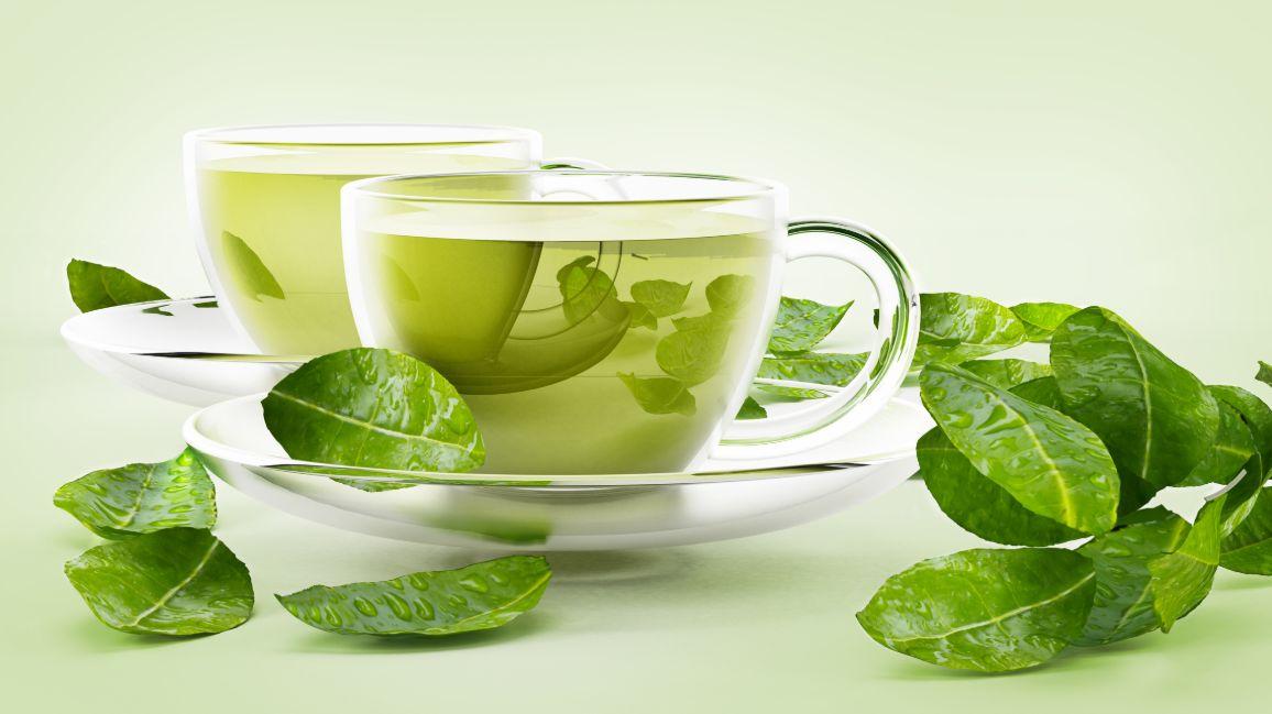 أفضل وقت لشرب الشاي الأخضر ..