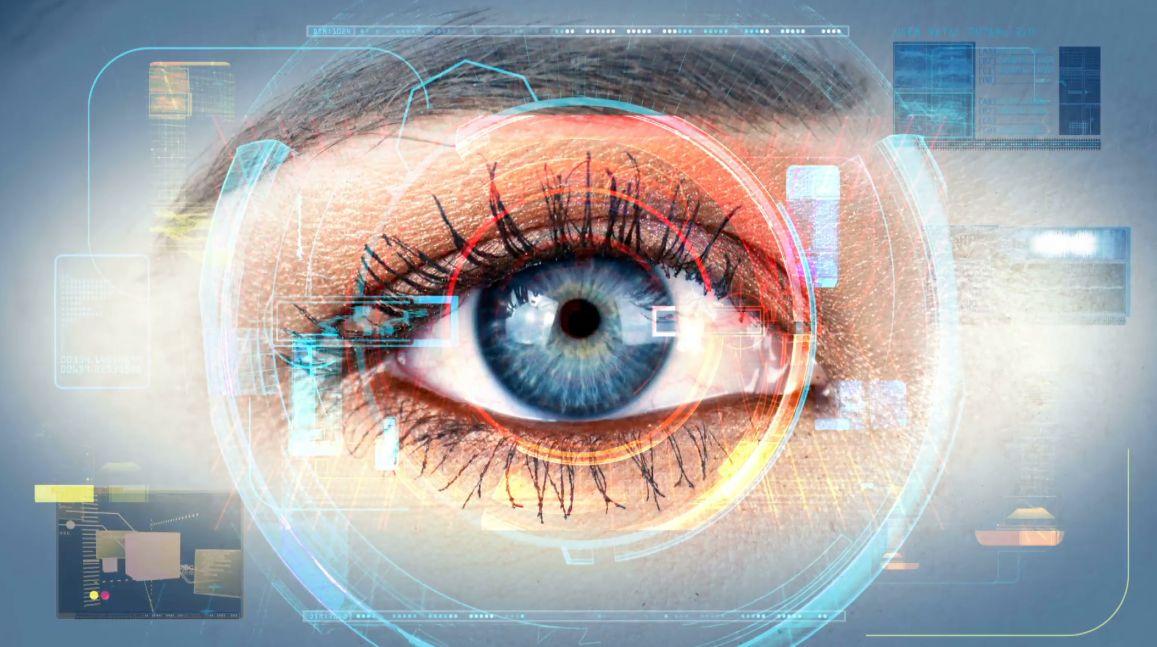 بحث حول العين والضوء والرؤية ..