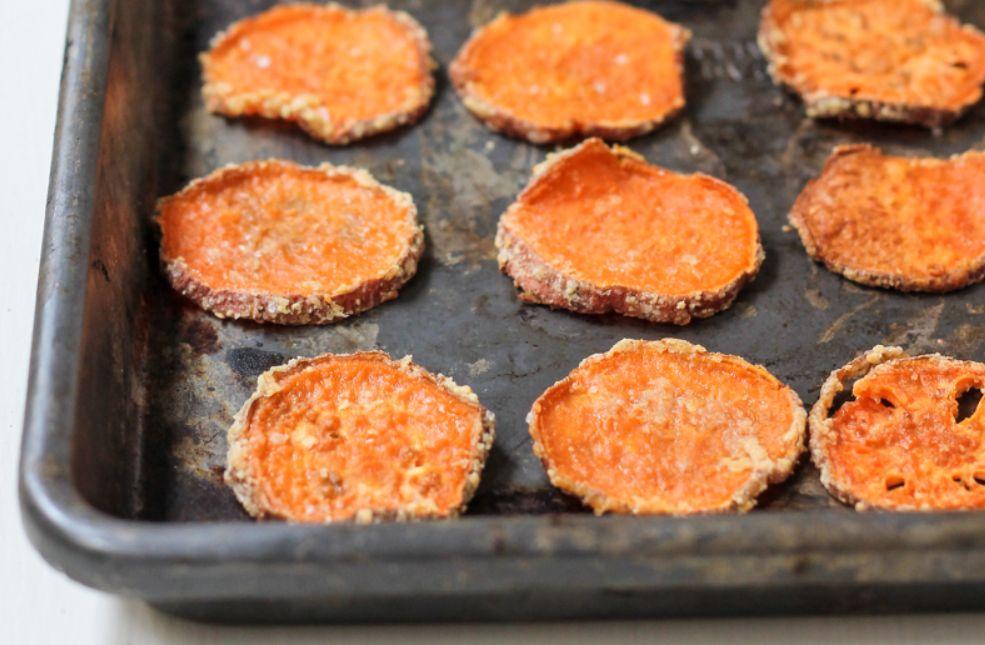 شيبس البطاطا الحلوة الصحي