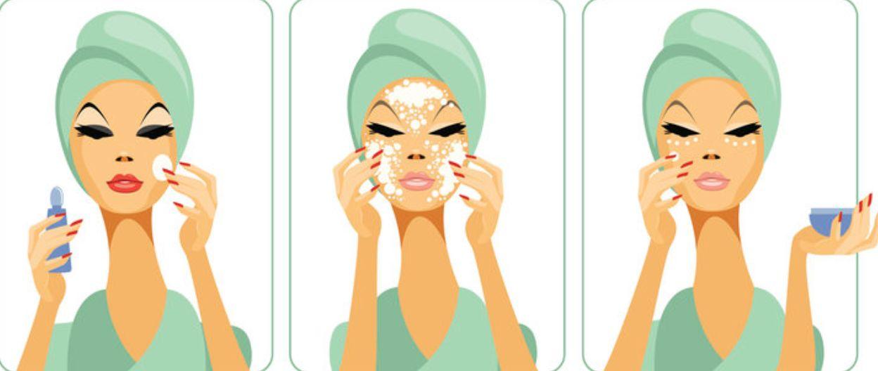 إغلاق مسامات الوجه للبشرة الدهنية