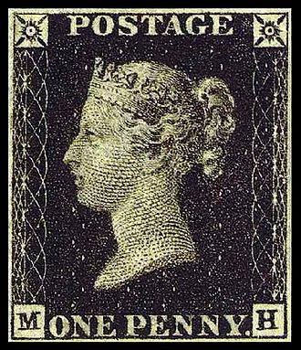 تاريخ الطوابع البريدية
