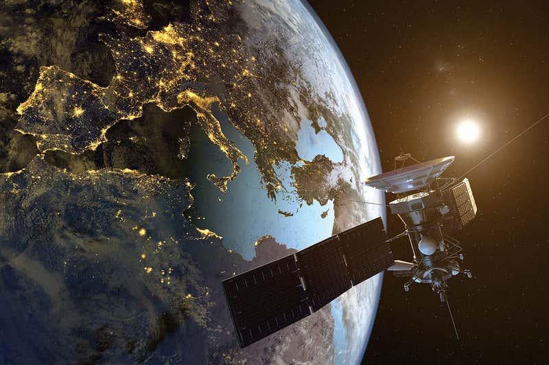 بحث عن الأقمار الصناعية