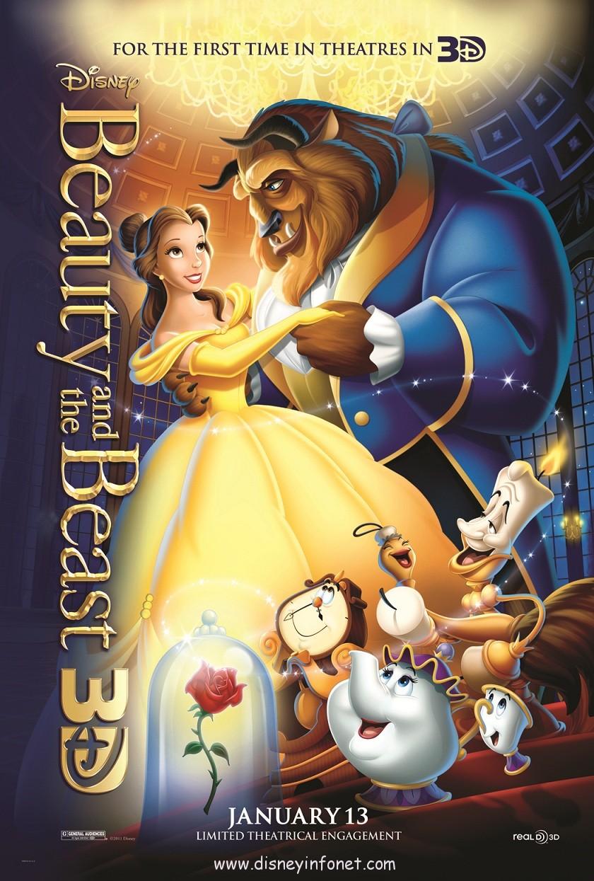 القصة الكاملة لفيلم الجميلة والوحش (Beauty and the Beast)