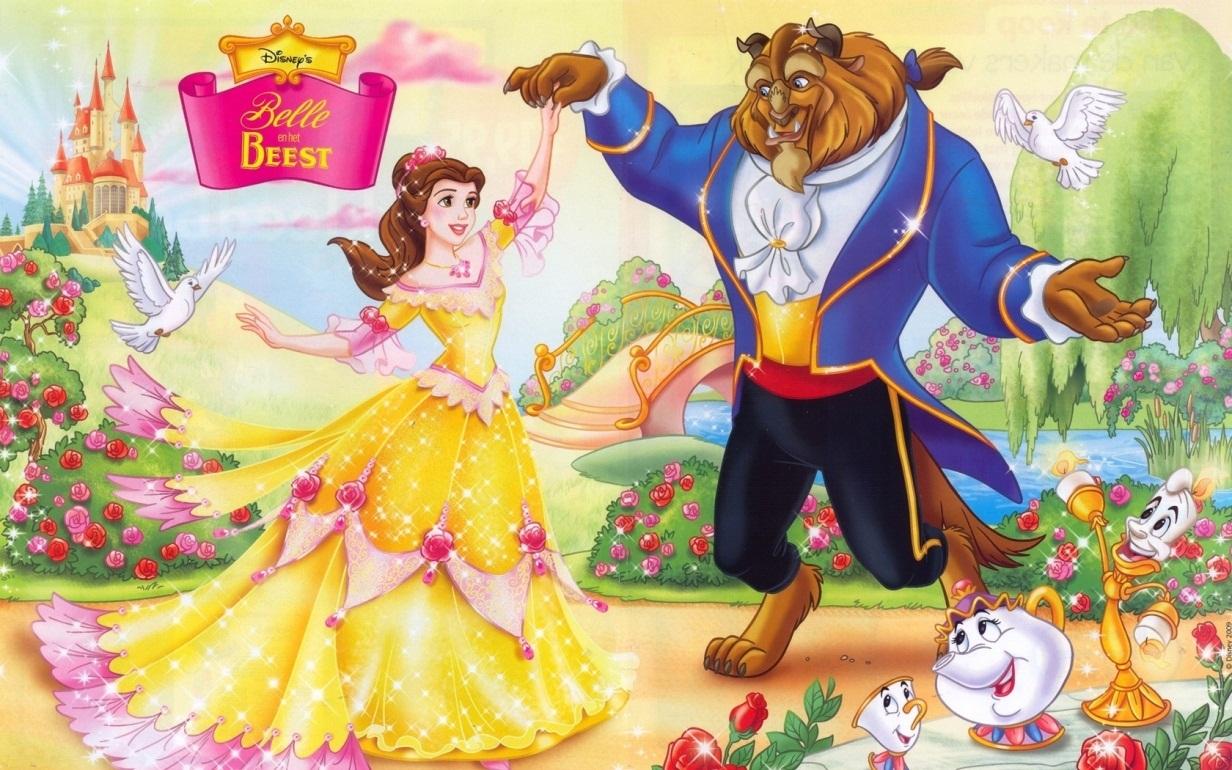 قصة الفيلم الكرتوني الجميلة والوحش (Beauty and the Beast)