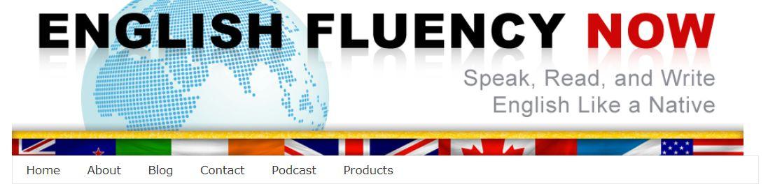 موقع English fluency now لتعلم اللغة الإنكليزية بمتعة وسرعة وإتقان مواقع تعليم اللغة الإنجليزية اون لاين