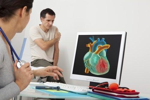 أعراض أمراض القلب والأوعية الدموية