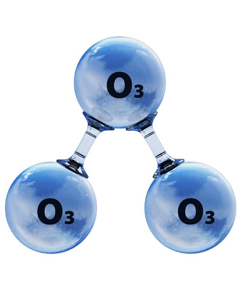 العلاج بواسطة الأكسجين المنشط أو غاز الأوزونO3