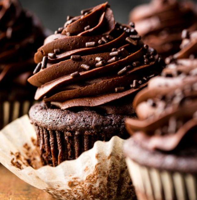 كبك كيك الشوكولاتة طريقة عمل كب كيك بالشوكولاتة