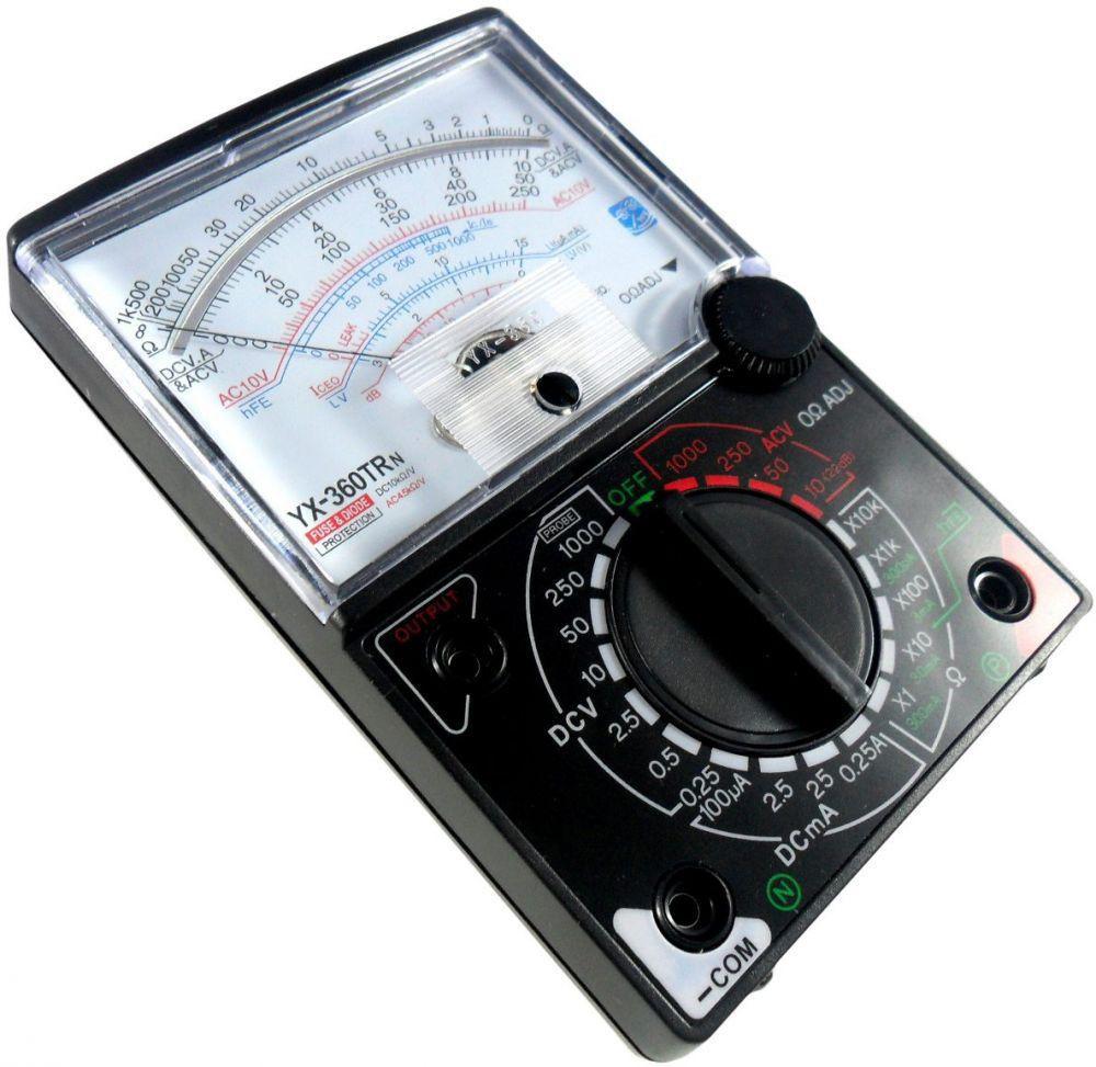 جهاز الآفو متر المتعدد القياسات (Multimeter multimeter devic).. تركيب واستخدام