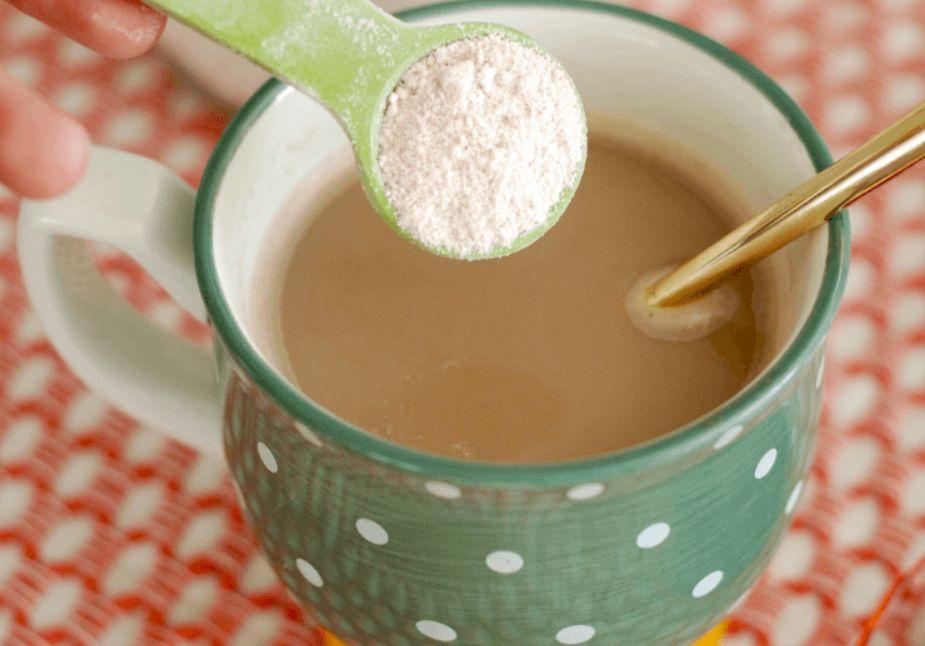 الكوفي ميت أو كريمة القهوة الخالية من الحليب أو مبيض القهوة والرجيم
