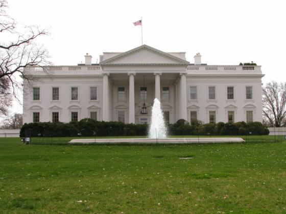 الواجهة الشمالية للبيت الأبيض
