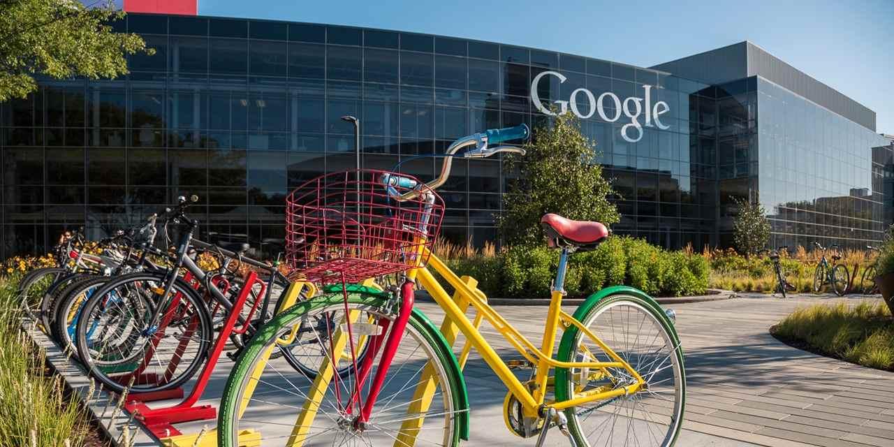 وادي السيليكون - مقر شركة جوجل