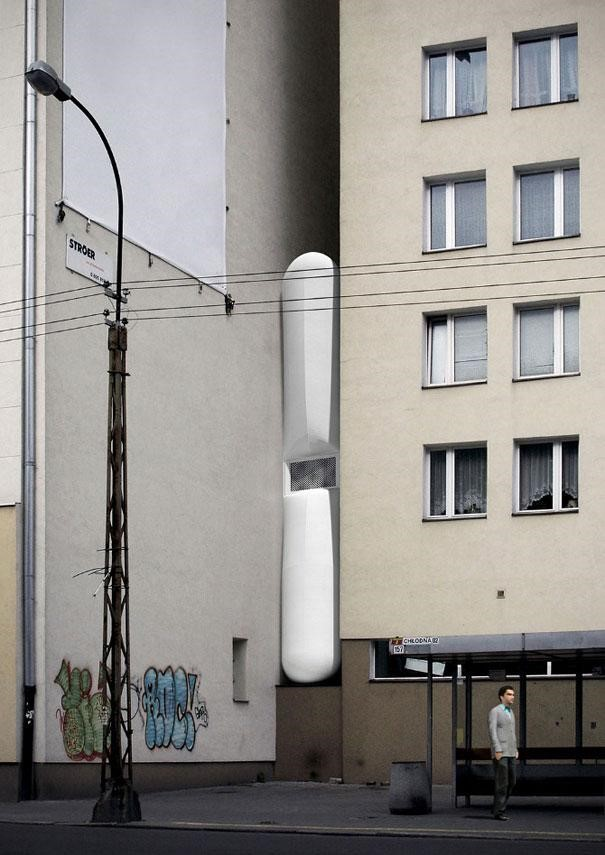 أنحف منزل في العالم يقع في بولندا