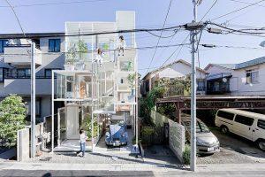 منزل شفاف في اليابان الصورة 1