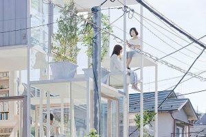 منزل شفاف في اليابان الصورة 3