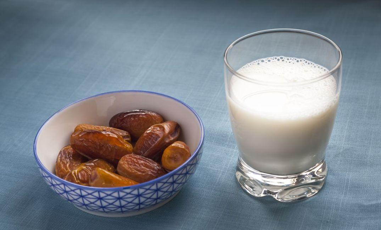 برنامج رجيم التمر والماء والحليب