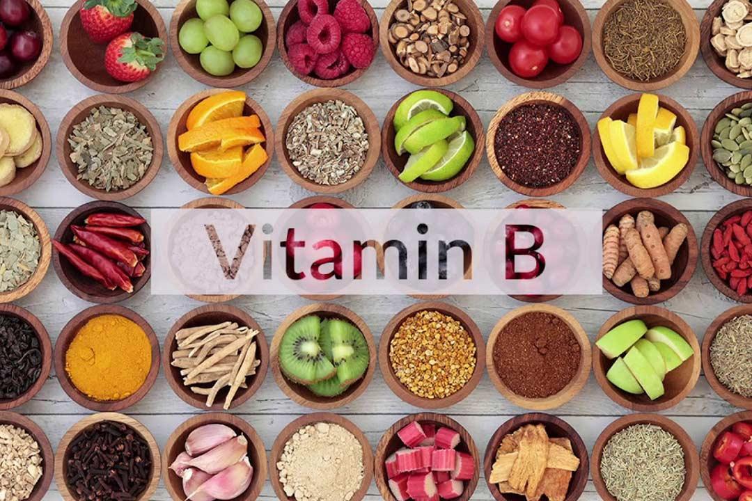 أين يوجد فيتامين ب