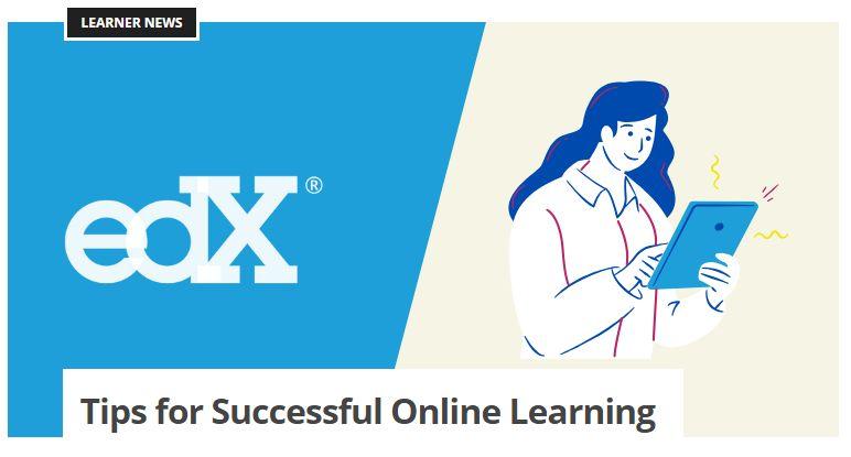 نصائح التعلم الناجح من موقع edx