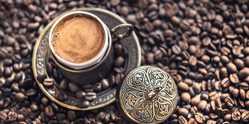 طريقة عمل قهوة تركية