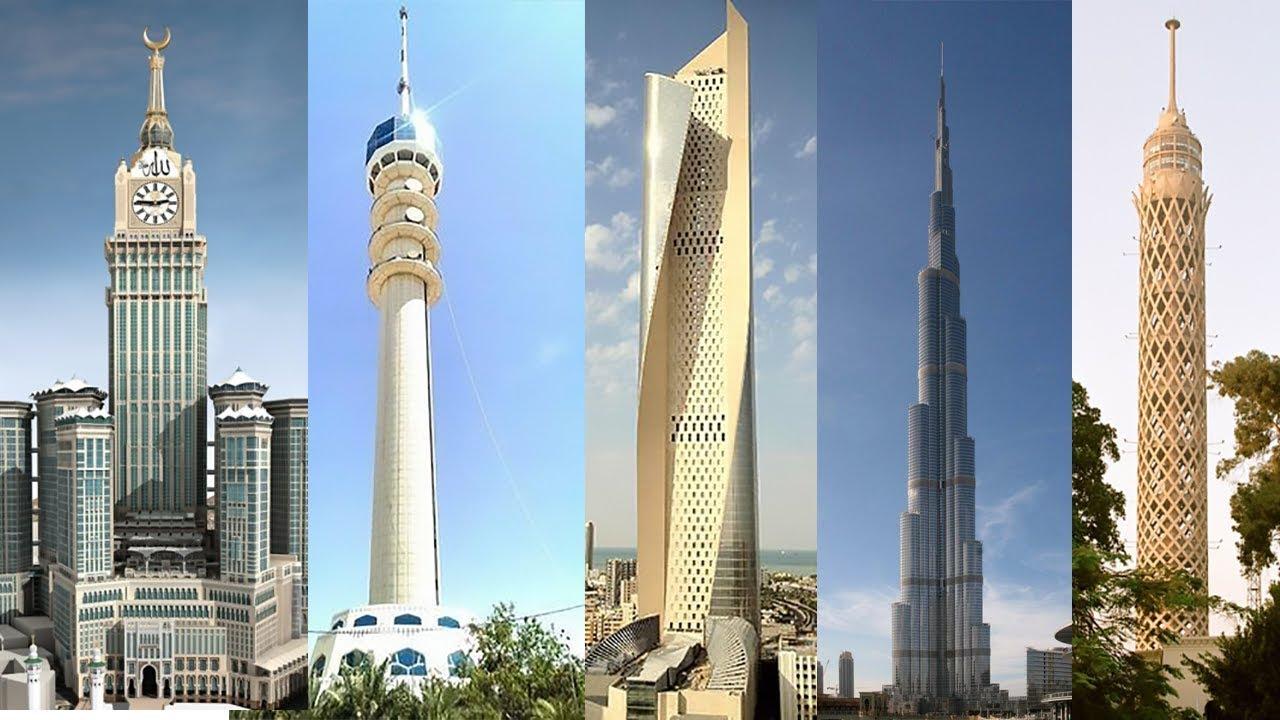 أطول أبراج في العالم