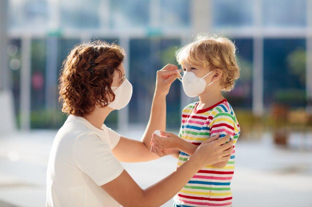 أعراض كورونا عند الاطفال