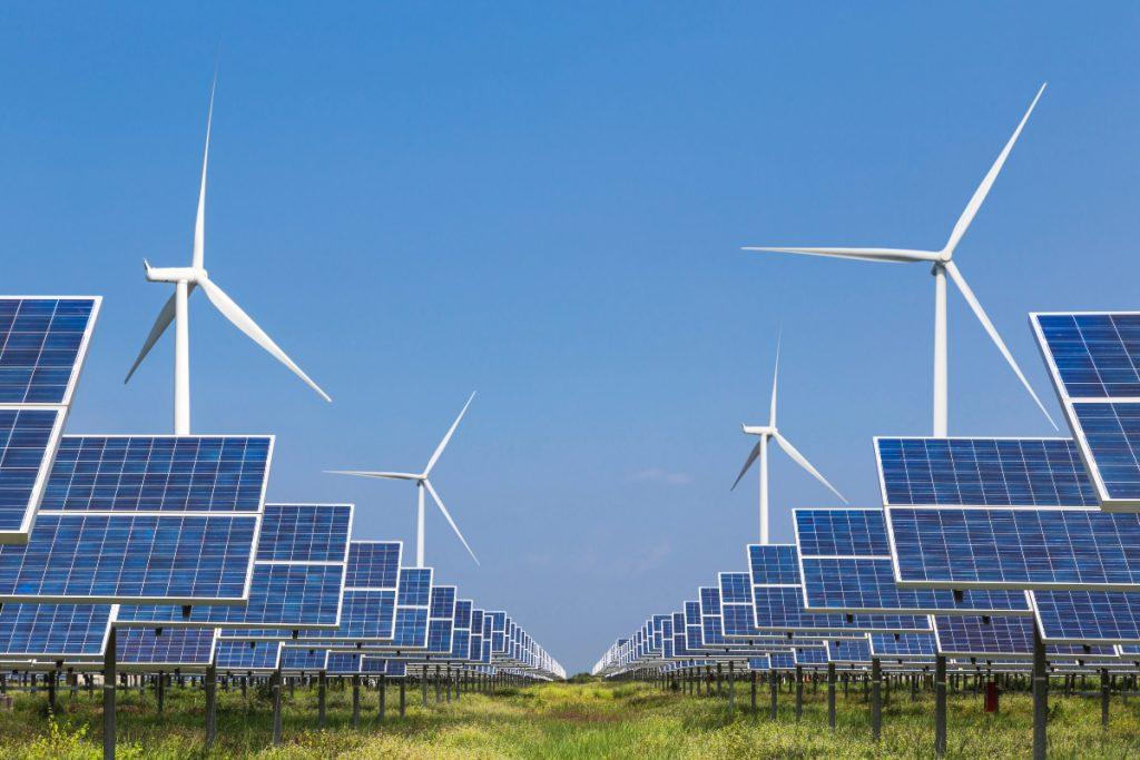 الطاقة الشمسية لتوليد الكهرباء