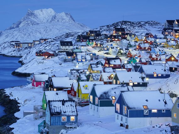 جزيرة جرين لاند - أكبر جزيرة في العالم