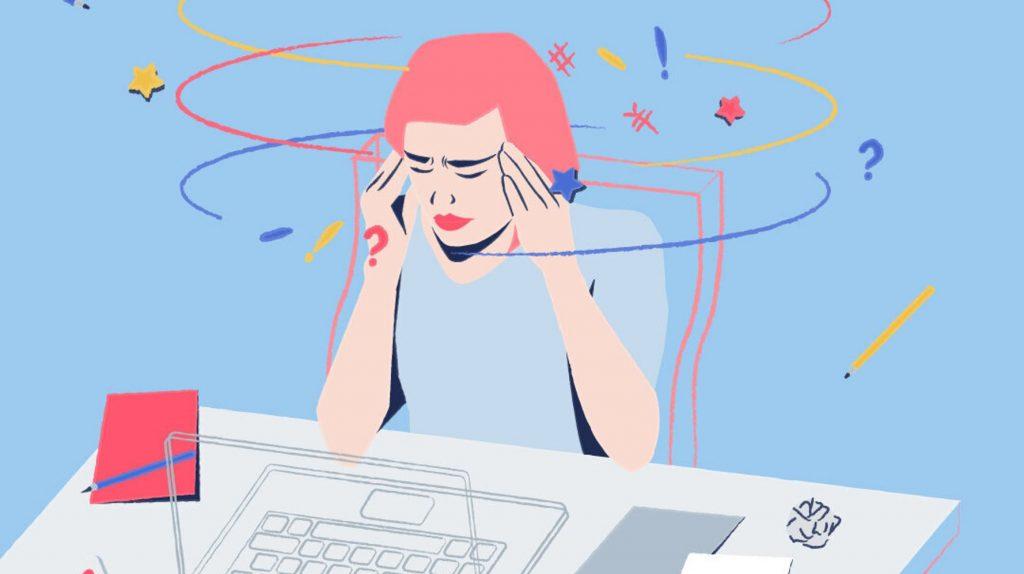 عواقب القلق النفسي
