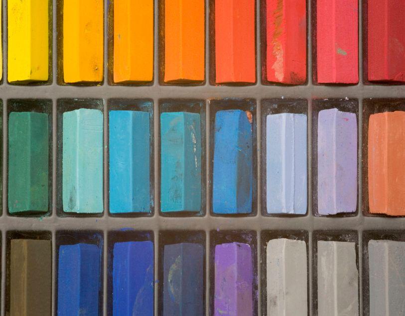 3 – ألوان الباستيل pastel colors