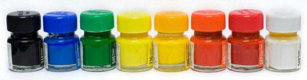 4 – الألوان البوستر أنواع الألوانposter colors