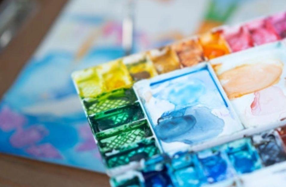 5- ألوان الماء - أنواع الألوان