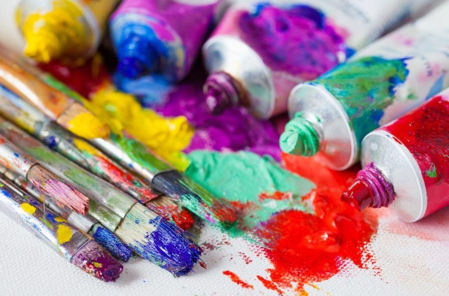 6 – الألوان الزيتية oil colors أنواع الألوان