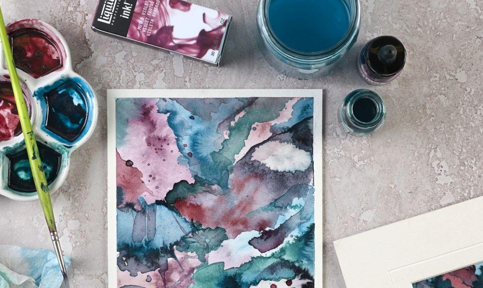 7 – الألوان الأكريليك acrylic colors أنواع الألوان