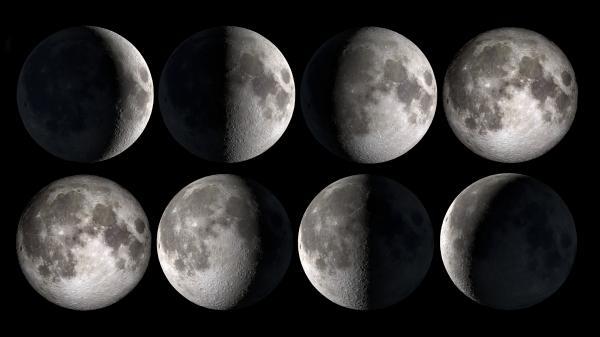 الأشهر القمرية
