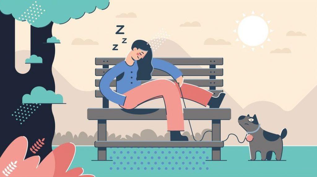 النوم القهري أسبابه والعوامل المحفزة