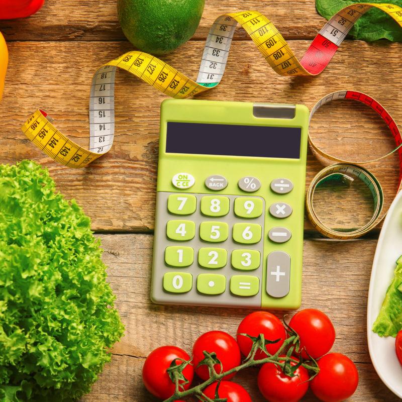جدول السعرات الحرارية لأنقاص الوزن