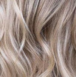 2 - Wavy Blond Bayalage Highlights