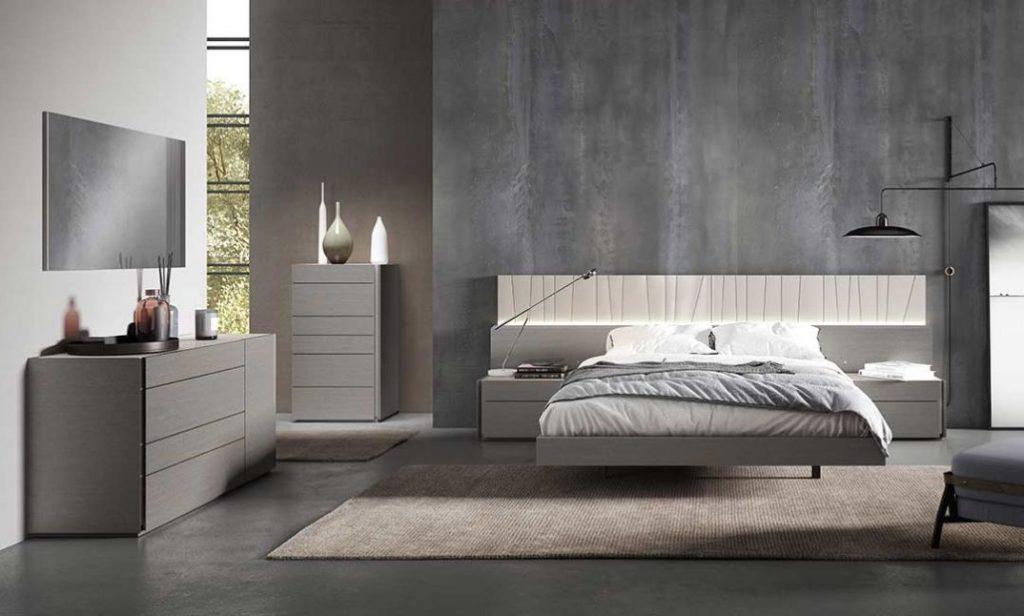 2 - الرمادي هو افضل لون لغرف النوم
