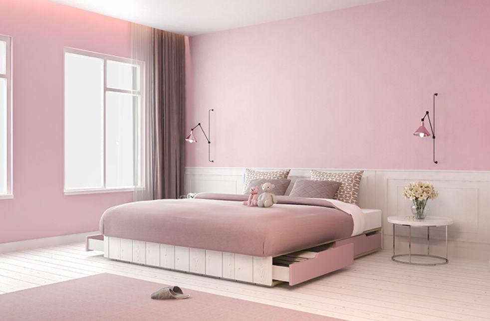 6 - اللون الوردي