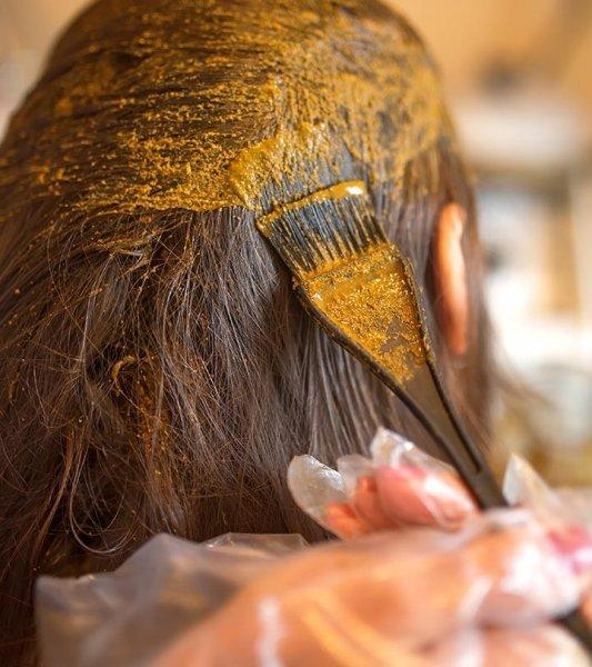الحناء لتساقط الشعر